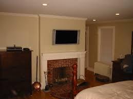 bedroom fireplace victorian gray finish oak wood nightstand white