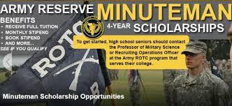 the minuteman scholarships 2017 2018 usascholarships com