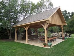 Patio Gazebo Ideas Outdoor Outdoor Kitchen Supplies Backyard Pavilion Plans Ideas
