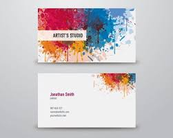 Studio Visiting Card Design Psd 50 Free Psd Business Card Template Designs Creative Nerds