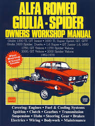 ac024 105 series workshop manual brooklands books classic alfa