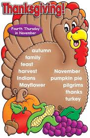 free thanksgiving printables and word walls to use now