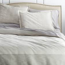 desmond duvet covers and pillow shams crate and barrel
