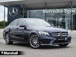 used mercedes benz c class saloon for sale motors co uk
