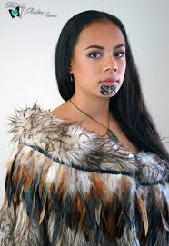 makeup artist in ta ta moko traditional maori tattoo cairns hair and makeup artistry