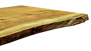 natural wood table top natural edges wane edges on custom wood countertops and table tops