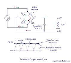 full wave rectifier bridge rectifier circuit diagram with design