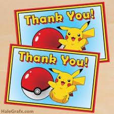 free printable pokémon birthday invitation pokemon pinterest