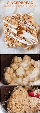 gingerbread rice krispie treats family fresh meals