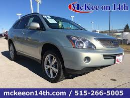 suv lexus 2008 mckee auto vehicles for sale in des moines ia 50313