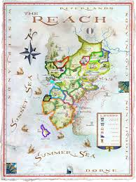 7 Kingdoms Map Politics Of The Seven Kingdoms Part Vii The Reach Race For