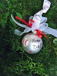 baseball ornament for birthday or award or
