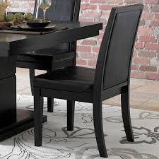5 piece dining room sets homelegance cicero 5 piece dining room set in black beyond stores