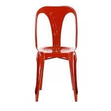 chaise m tal industriel chaises en mtal sedia in metallo verniciato cannet