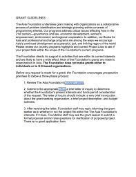 grant guidelines the asia foundation