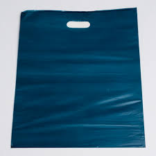 navy plastic shopping bags large a b store fixtures