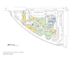 rosewood abu dhabi handel architects archdaily plan