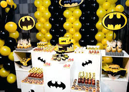 batman centerpieces birthday party supplies houston best batman centerpieces