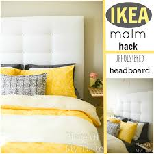 Diy Pillow Headboard Ikea Hacks A Diy Upholstered Malm Headboard