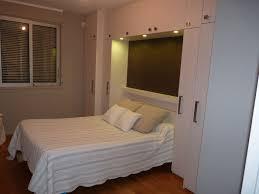 chambres avec chambres mélaminé structuré avec éclairage led