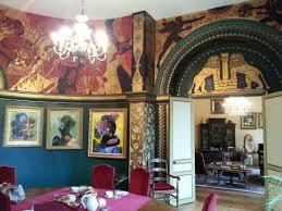 chateau de chambres la salle à manger décorée par balias photo de chambres d hotes