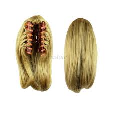 claw hair new butterscotch claw clip po nytail clip on hair
