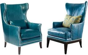 peacock blue chair peacock blue leather chair peacock color chair harbor this