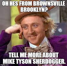 Brooklyn Meme - did anyone else see glover doing this page 5 sherdog forums