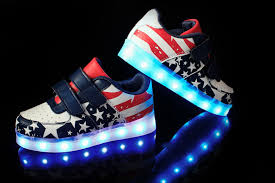 light up shoes size 4 new style children s led light shoes kids nightclub dance boys and