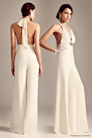 white formal jumpsuit formal jumpsuits for weddings bridal fashion trend the bridal