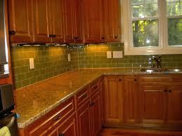 green glass tiles for kitchen backsplashes green tile backsplash kitchen light green subway tile kitchen green