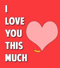 I Love You This Much Meme - i love you this much meme guy