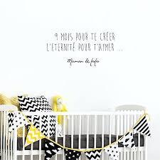 stickers pour chambre bébé fille sticker pour chambre sticker texte chambre bacbac stickers pour