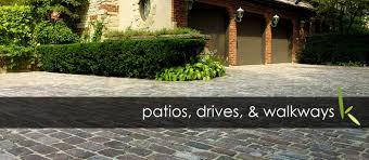 gallery of patios drives walkways by kemora landscapes kemora