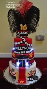 hollywood movie theater theme cake alberto u0026 gigi u0027s cakes