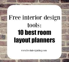 Interior Home Design Software Free 10 Of The Best Free Online Room Layout Planner Tools Design Room