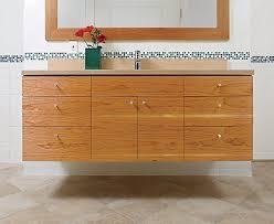 Cherry Vanity Build A Floating Vanity Fine Homebuilding