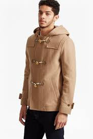 World Map Jacket by Marine Melton Duffel Coat Collections French Connection