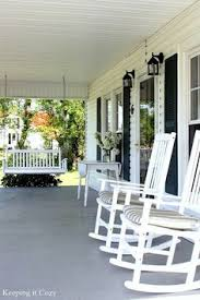 love the rocking chairs for the patio space porch pinterest