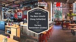 The Barn Tea Rooms The Barn Home Amsterdam Netherlands Menu Prices