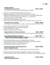 staffing coordinator resume event planning resumeevent planner