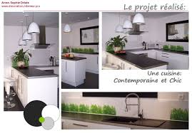 d馗oration cuisine blanche deco cuisine blanche awesome deco cuisine moderne luxury idee deco