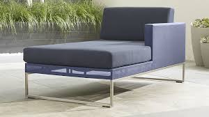 Crate And Barrel Lounge Sofa Review by Dune Right Arm Dark Blue Chaise Lounge Crate And Barrel