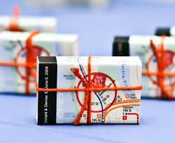Nyc Wedding Favors by Wedding Favors We Met Here Transit Maps The