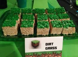 minecraft party 10 recipes and ideas for minecraft party food