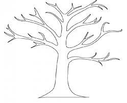 clip art tree outline clipart best snowjet co clip art library