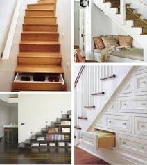 cool storage under stairs for your home furniture andrea outloud