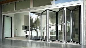 Bi Fold Glass Doors Exterior Cost Folding Glass Doors Exterior Cost Amazing Folding Glass Patio