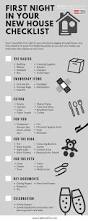 first night in your house checklist