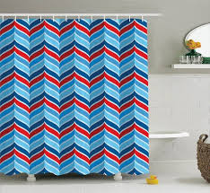 Curtains Chevron Pattern Curtains Chevron Pattern Curtain Black Rod Wooden Baby Crib